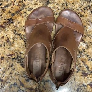 Bed Stu brown sandals 6.5